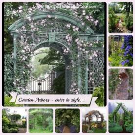 A collection of Garden Arbors