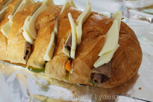 Campfire Philly cheesesteak