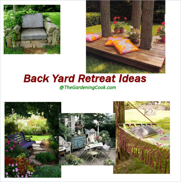 Backyard Retreats Ideas : These backyard retreat ideas are perfect for a lazy day From a simple