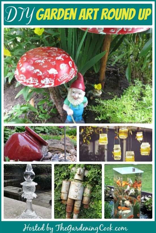Diy garden decoration projects make your own garden art the gardening cook - Diy garden decoration ideas ...