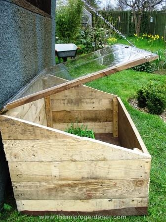 Diy greenhouses recyle old material for plants for Diy micro greenhouse