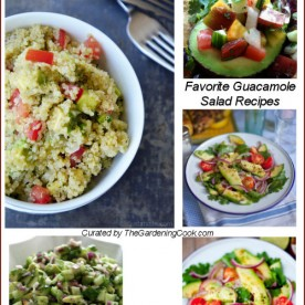 Favorite quacamole salads.