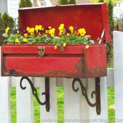 tool box planter