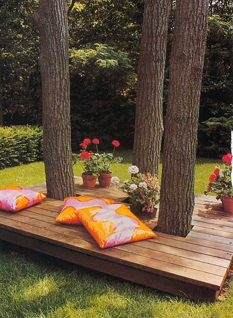 Backyard Retreat Ideas backyard retreat httpwwwparadiserestoredcomportfolioboudreaux This Neat Patio Has Been Made With The Exiting Trees Great Shade And A Perfect Place To Relax And So Great That The Trees Didnt Come Down Source Flickr
