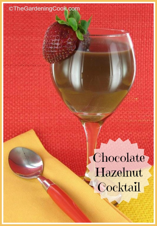 Chocolate Hazelnut Kahlua cocktail