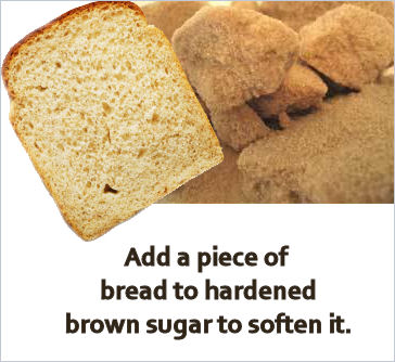 soften brown sugar