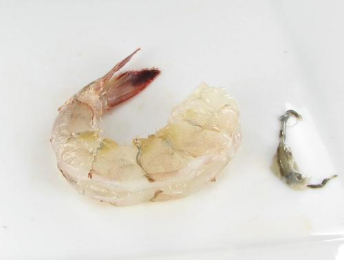 de-vein shrimp