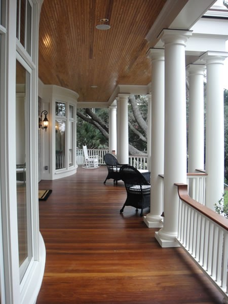 Fabulous front porch design