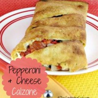 Pepperoni Cheese Calzone