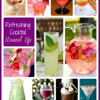 Round up of refreshing cocktails
