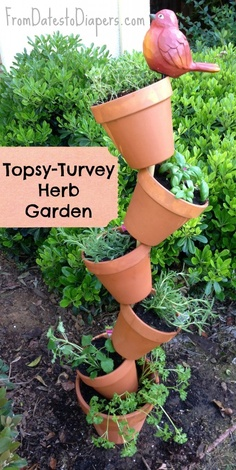 topsy turvy planters