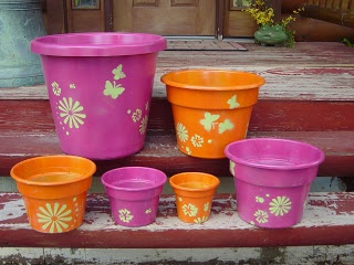 topsy turvy planter sizes of pots