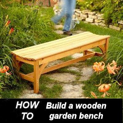 Diy Garden Bench Build It Yourself The Gardening Cook