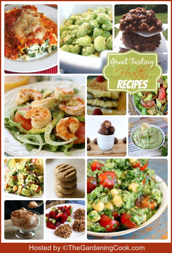 Round up of Great tasting healthy recipes to start 2014 off right