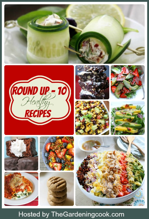 Round up of 10 healthy recipes to kick start your year in a great way.