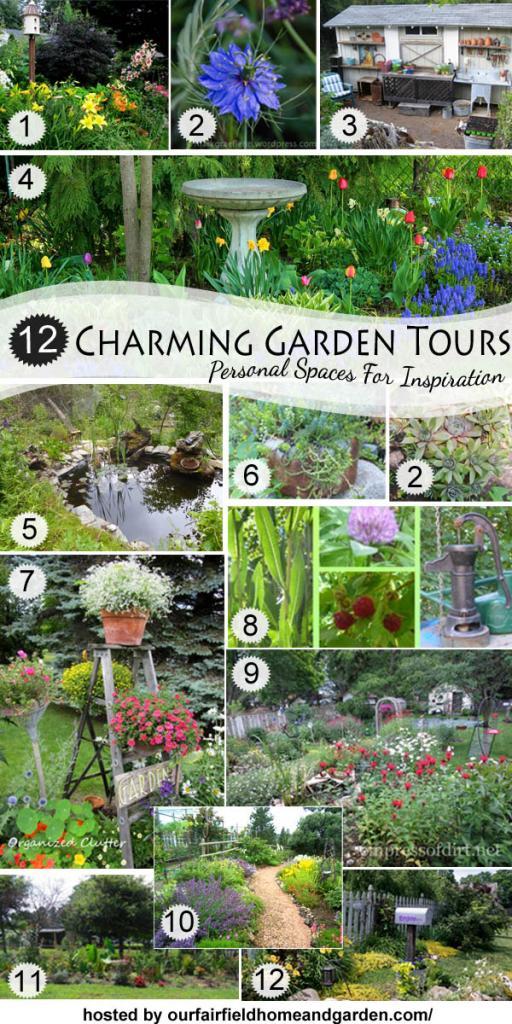 My test garden has been included in a garden hop the for Hops garden designs
