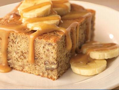 Banana Caramel Cake – Tasty Coffee Break recipe