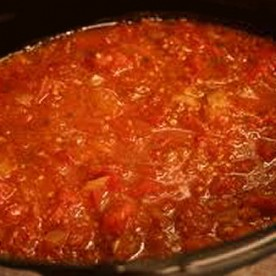 Home made marinara sauce