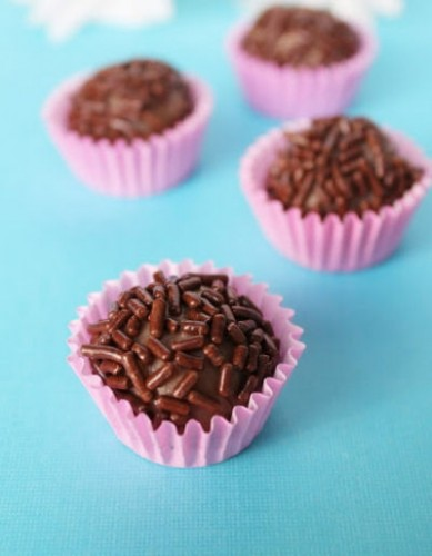 Brigadeiro chocolate balls