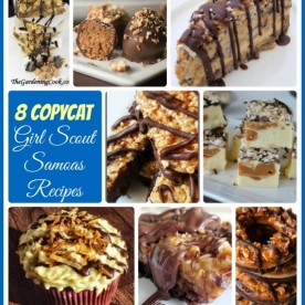 Round up of 8 Great Tasting Girl Scout Samoas copycat recipes