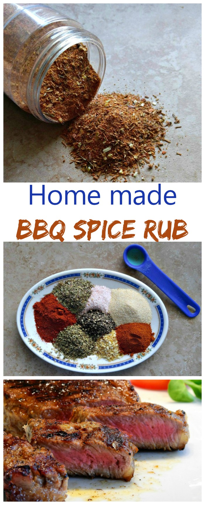 This spice rub is simple to make and makes any meat taste great on the grill. Make some today!