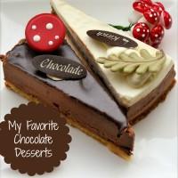 Round up of my favorite chocolate desserts