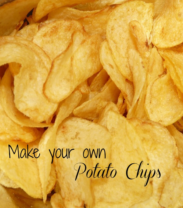 Make your own potato chips
