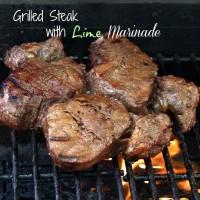 Grilled Steak with Lime Marinade
