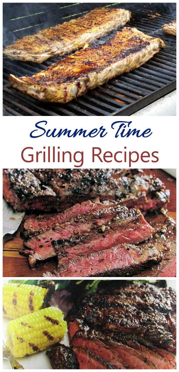 These fabulous summer time grilling recipes will have you entertaining in style this summer.
