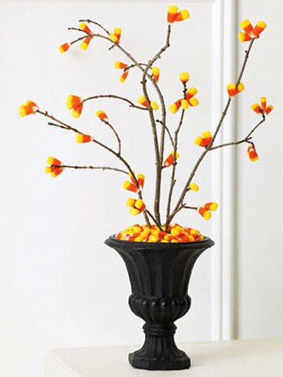 Cute Candy Corn DIY Tree decoration