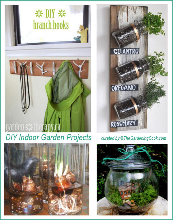 Easy diy garden projects the gardening cook for Indoor gardening made easy