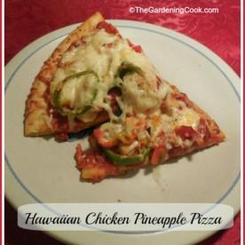 Hawaiian Chicken & Pineapple Pizza Recipe