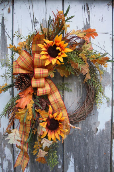 Diy Autumn Wreath Projects The Gardening Cook