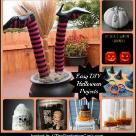 DIY Halloween Easy projects and decor ideas