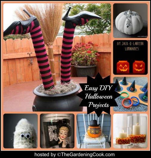 Easy Halloween Decor Ideas The Gardening Cook