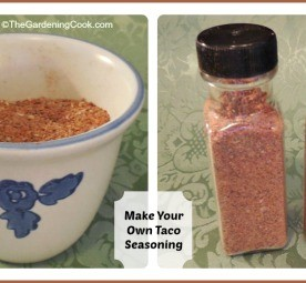 Make your Own Taco Seasoning.