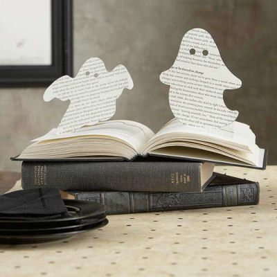 Cute Halloween Pop Up Book Ghosts