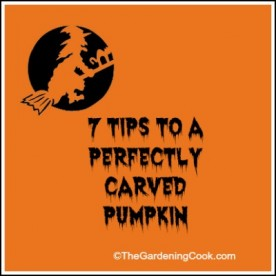 7 Tips for a Perfecly Carved Pumpkin