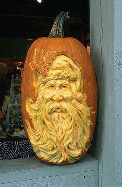 Creative pumpkin carving the gardening cook