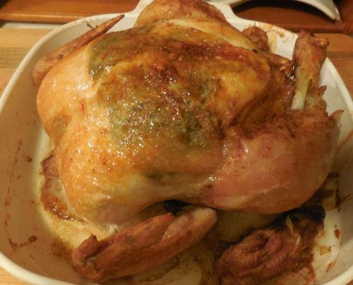 Herb Infused Roast Chicken