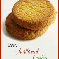 Basic shortbread cookie recipe