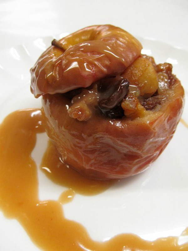 This caramel baked apple recipe is so full of flavor. The maple sugar ...