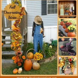 Fall Decorating ideas from The Gardening Cook