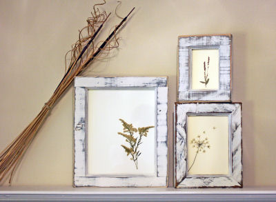 diy pressed flower frames