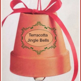 DIY Giant Terracotta Jingle Bells