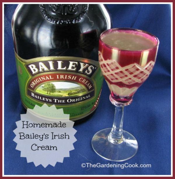 Homemade Bailey's Irish Cream Drink