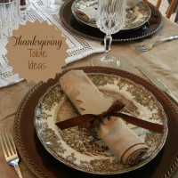 Insirations for a Thanksgiving table to delight your guests