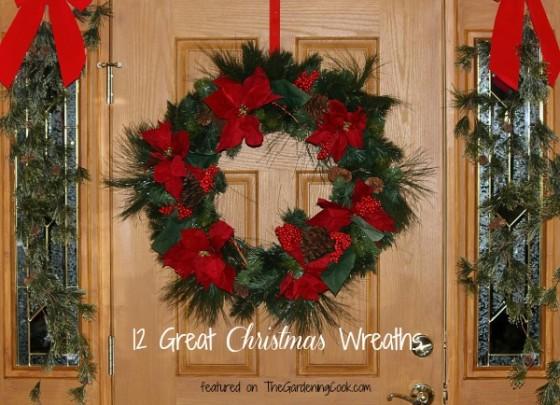 12 great Christmas wreaths
