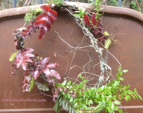 Rustic Garden wreath