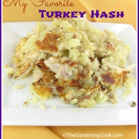 My Favorite turkey and potato hash